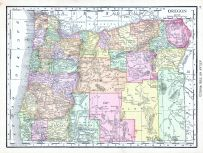 Oregon, World Atlas 1913